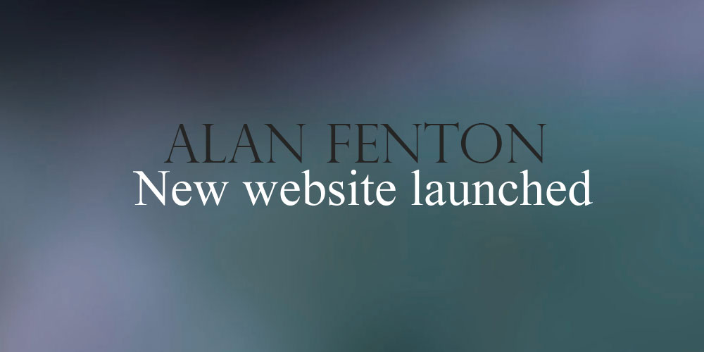 New Website for author Alan Fenton